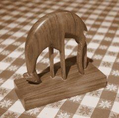 à 15ans: première sculpture animalière